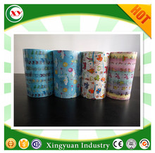 Hot sale customized design PP frontal tape for baby nappy adult diaper adhesive tape raw material