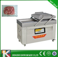 automatic frozen food meat vegetable vacuum packaging machine