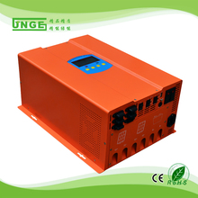 off grid high frequency 300w 500w 1000w 12v 24v 48v dc 220v ac pure sine wave solar inverter with built-in charge controller