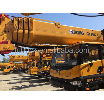New model QY70K-I pickup truck crane with cable winch 70 ton