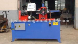 automatic pipe/tube making/knurling machine
