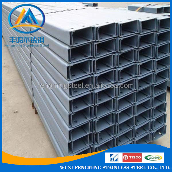 316l Stainless Steel U Channel at Wholesale Price
