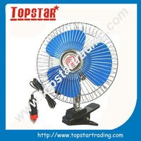 Steady working portable car fan 6 inch 12v,auto car fan