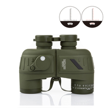High Powered Distance Measuring Day Night Vision 10x50 Binoculars with LED