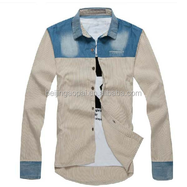 Famous brand casual shirts for men italian