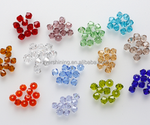 Wholesale 4mm AAA Bicone jewelry crystal beads loose Beads for Jewelry Making DIY Bracelet Necklace accessories TOP Quality