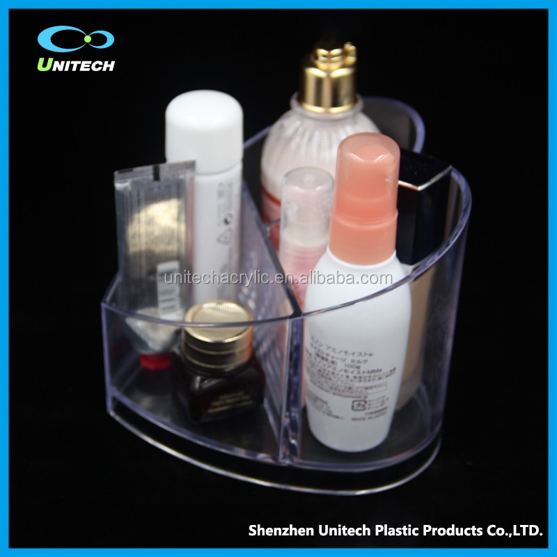 Fashionable OEM large acrylic display cube cosmetic display
