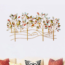 2016 NEW Home Source Decorative Inspired Product Nature Modern Tree with Bird Metal Wall Art