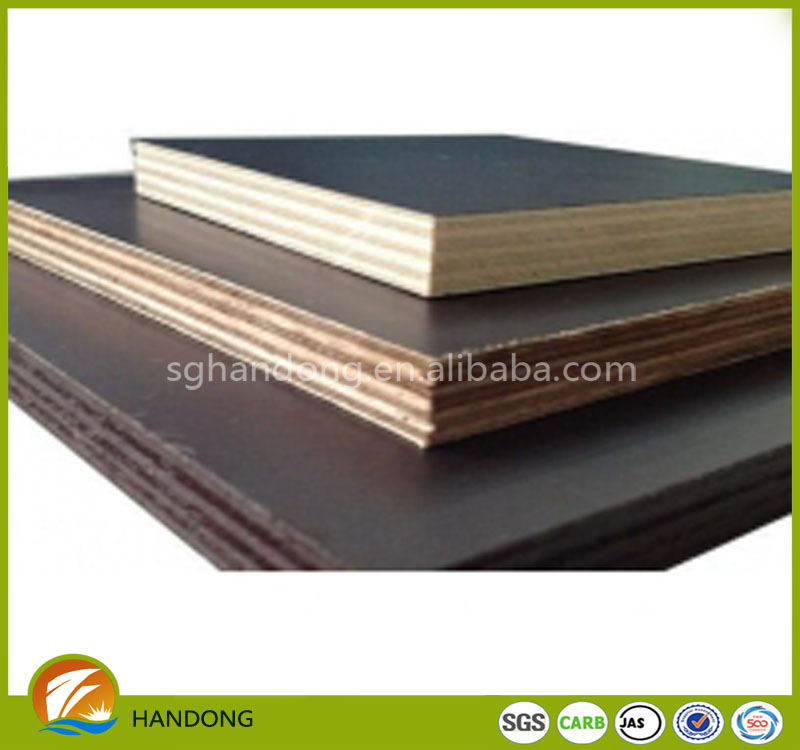 500 - 600 kgs density of film faced plywood for 2016 new product