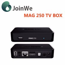 Original MAG 250 Linux IPTV Box New Faster Processor MAG 250