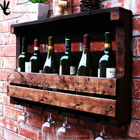 Mass customization Collection Exhibition Wall hanging Wine rack