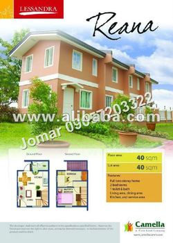 RHEANA MODEL, HOUSE AND LOT CAMELLA APALIT, 2 BEDROOMS, 2 STOREY, NEAR to SCHOOLS and SM SAN FERNANDO PAMPANGA