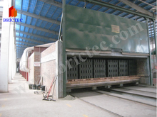 Coal/gas/heavy oil fired clay brick tunnel kiln