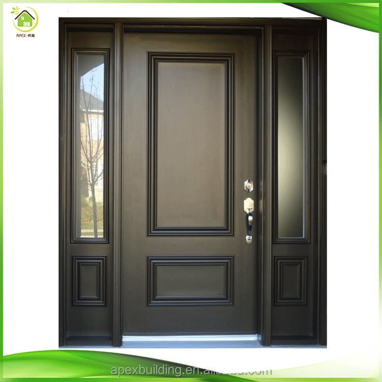 Wooden front double door designs for House front double door design
