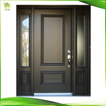 Exterior wooden front double door designs fancy doors