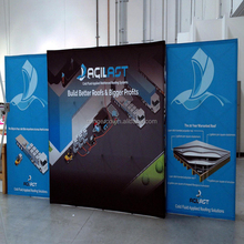exhibition backdrop advertising banner Trade Show Display Pop up Stand Banner