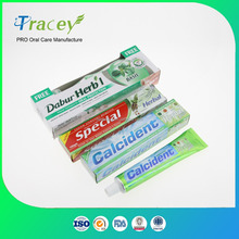OEM PRIVATE BRAND FLUORIDE High Quality TOOTH PASTE Cheap China Toothpaste with Mouth Wash