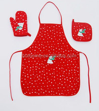 Cartoon cheapest apron sets/gardening apron with tools apron set