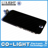 mobile phone lcd for iphone parts, for iphone 5 original lcd digitizer accept paypal