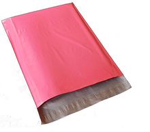 custom printing colored mailing bags/pink poly mailer envelopes