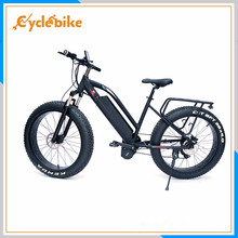 2017 hot sale 26*4.0 inch 48v 1000w BBSHD Bafang MID drive motor fat tire electric bike