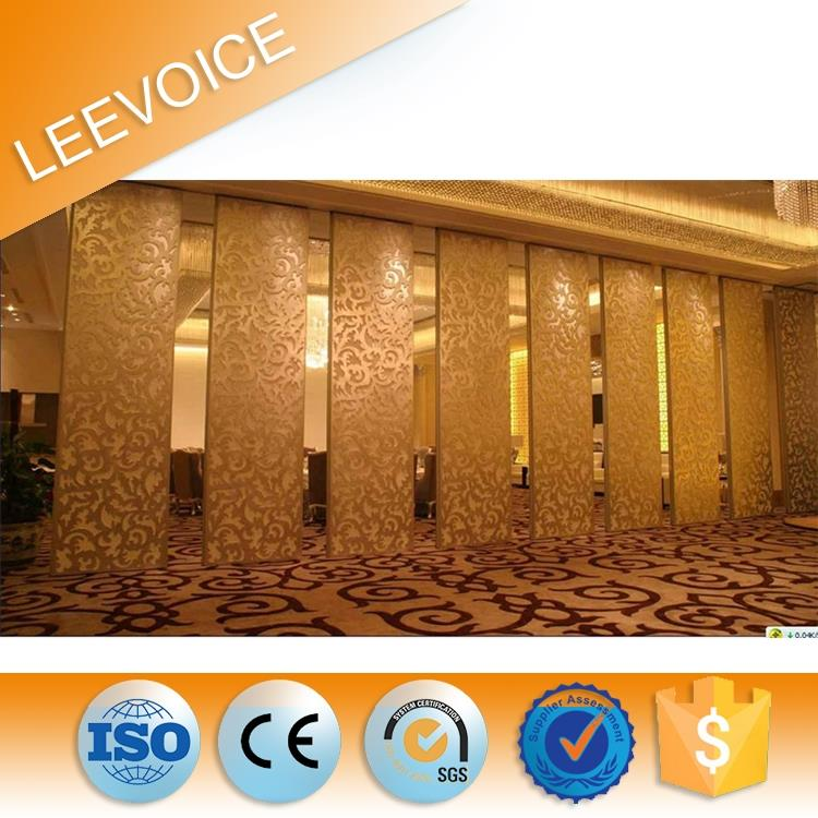 Fire Resistant Acoustic Panel Movable Partition