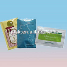 Plastic Heat Seal or Cold Seal coffee and tea foil packaging bags