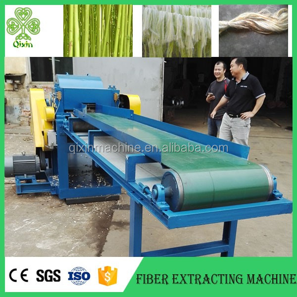 Best Automatic natural flax seeds fiber extracting machine / flax machine price