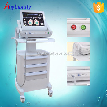 High performance anti aging wrinkle machines hifu for face lift and skin tightening