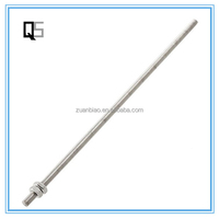High Strength A193 B7 Threaded Rod Fastener Hardware Long Thread Rod Made in China