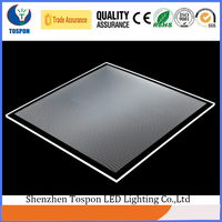 Fireproof Impact Resistant PMMA Diffuser Sheet for LED Light