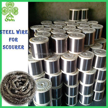 high quality 0.13mm 410 430 stainless steel scourer wire