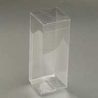 Cheap transparent clear plastic foldable pp pvc pet packaging boxes wholesale