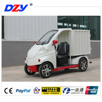 mini electric car cargo delivery goods transport car