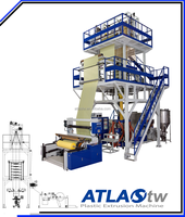 ATLAS Large plastic film blowing Machine