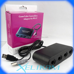 New Product! Gamecube controller adapter for Nintendo Wii U gaming adapter for GC controller