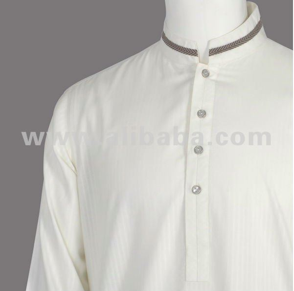 Off-White Semi Formal Kurta