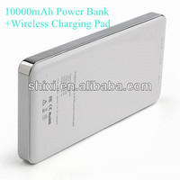 Qi external backup battery wireless charger
