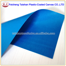 530gsm Blue fire retardance PVC Coated glass fiber Fabric tarpaulin