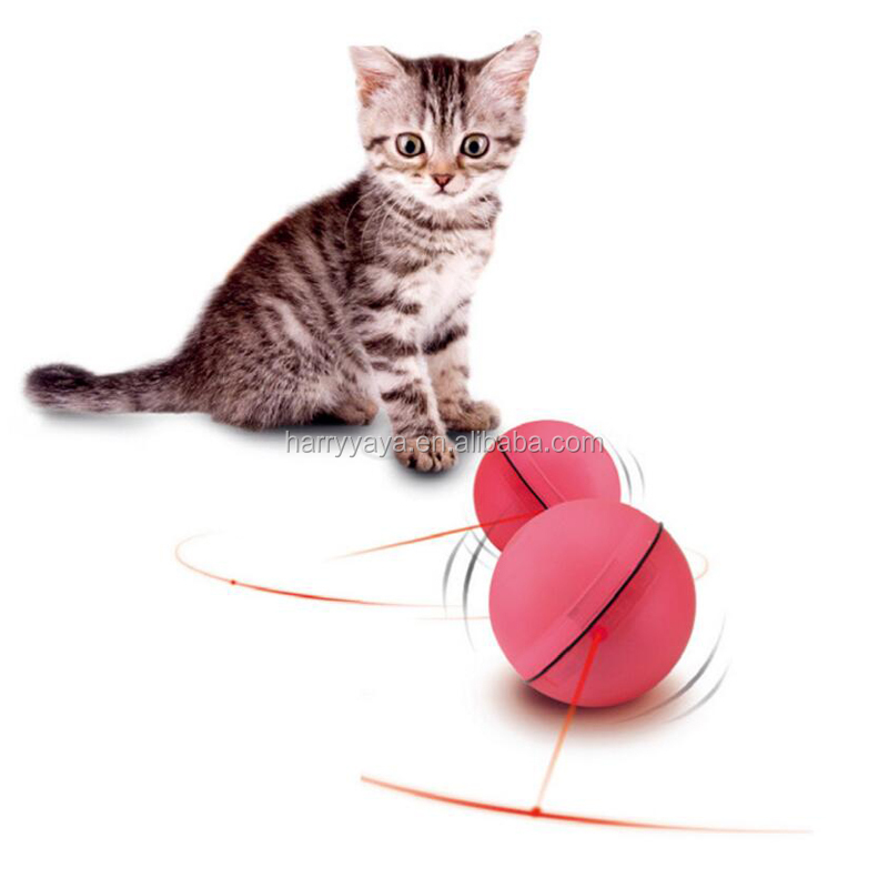 New design Laser Pointer Cat Toy ball Interactive Rotating Cat Laser Toys Electronic Pet Laser Flashing Light Toy cat ball toy