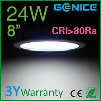 New high quality high power dimmable 24W cob led downlight