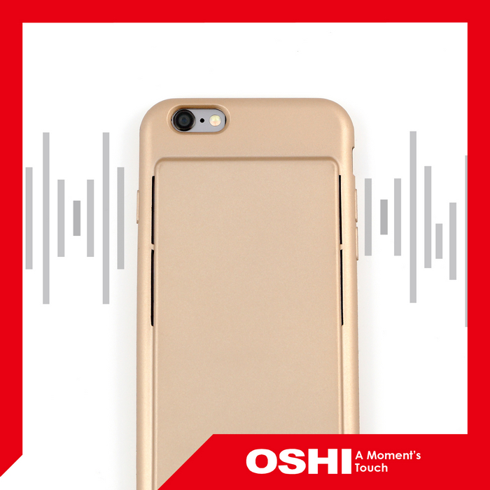 New Release High Quality Sound Conduction for iPhone 6 and 6S mobile phone case
