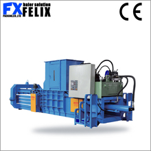 plastic bottle binding machines scrap manual horizontal baler clothes baler compactor