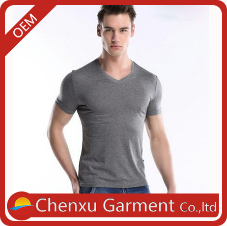 2016 new style men shirts cheap 90% cotton 10% elastane t shirts create your own brand t-shirt embossing print