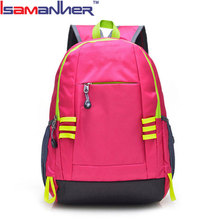 Isamanner outdoor new design casual teenagers oxford simple school bags