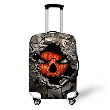 Latest foldable spandex travel luggage bag covers suitcase rain cover