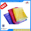 plastic vegetable mesh bags for packing potatoes and onions made in china