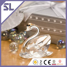 Lively Grace Crystal Swan Wedding Favors Gift