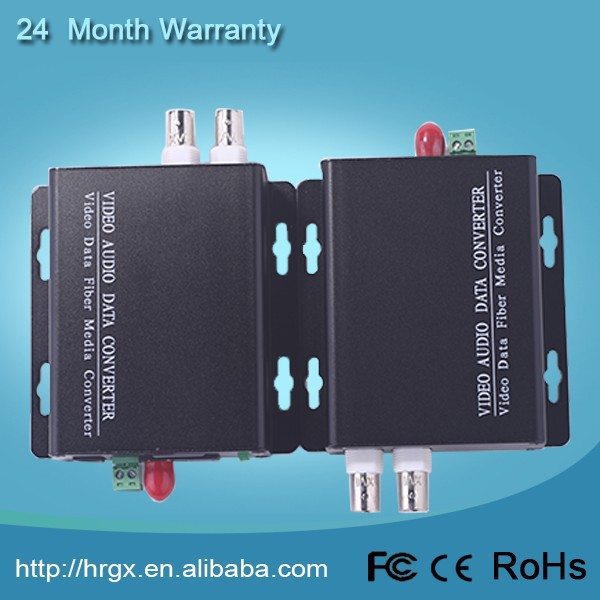 2015 Alibaba assurance trade 2-CH Analog signal to digital signal fiber optical video to ip converter