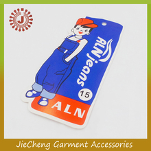 china custom cheap high quality hangtag clothing paper hang tag printer